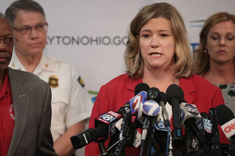 Dayton Mayor Criticizes Trump's 'Unhelpful' Gun Control Comments as the President Prepares to Visit the City