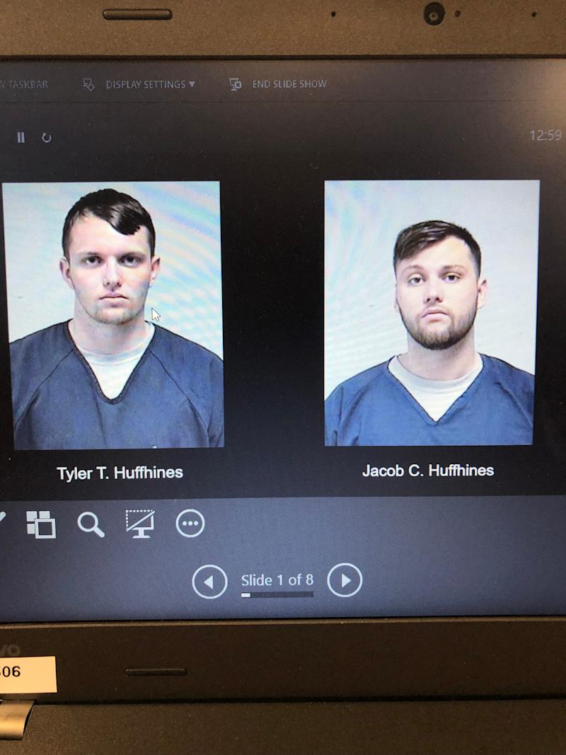 Brothers Tyler and Jacob Huffhines of Kenosha County, Wisconsin, were arrested Monday, Sept. 16, 2019, on suspicion of ties to a major THC operation.