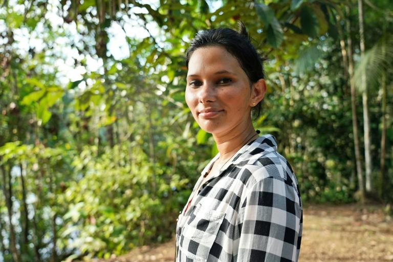 Maria Cunha, 26, is a volunteer forest ranger with a degree in sustainable production techniques
