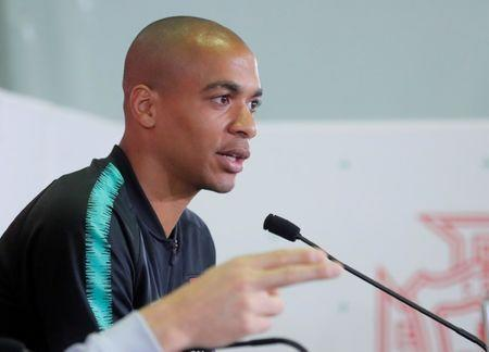 Soccer Football - World Cup - Portugal News Conference - Kratovo, Moscow Region, Russia - June 12, 2018. Joao Mario attends a news conference. REUTERS/Maxim Shemetov