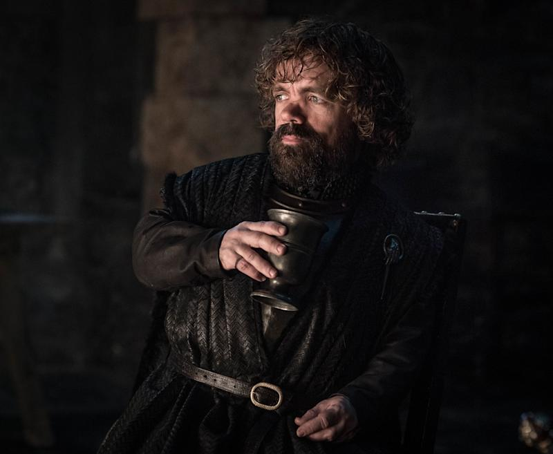 Peter Dinklage as Tyrion Lannister in <i>Game of Thrones</i>. (Photo: Helen Sloan/HBO)