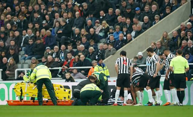 Florian Lejeune suffered a cruciate knee ligament injury in April (Owen Humphreys/PA)