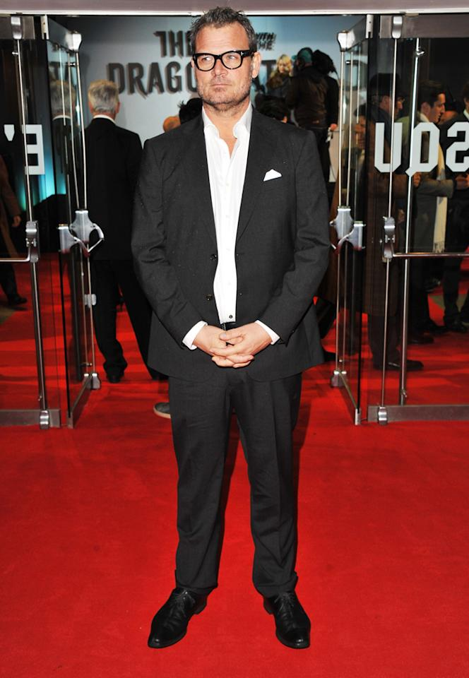 """Yorick Van Wageningen at the London premiere of <a href=""""http://movies.yahoo.com/movie/1810163569/info"""">The Girl With the Dragon Tattoo</a> on December 12, 2011."""