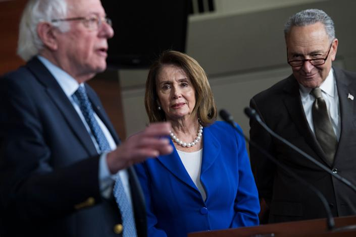 Democratic leaders got prescription drug legislation through the House in 2019. The Senate, under Republican control, refused to consider it. But now the Senate is under Democratic control and the work that went into that 2019 bill should make passing new legislation a lot easier. (Photo: Tom Williams via Getty Images)