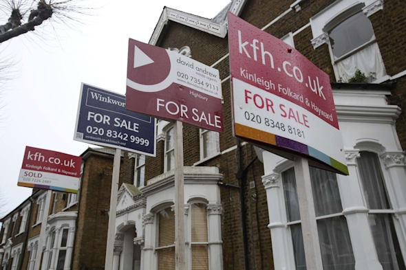 House price boom in South East