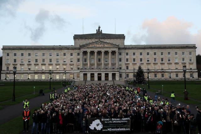 Northern Ireland abortion laws demonstration