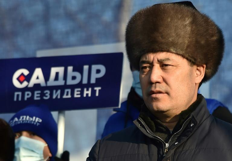 Kyrgyz presidential candidate Sadyr Japarov Japarov became acting leader during a political crisis last year before quitting to run in the vote