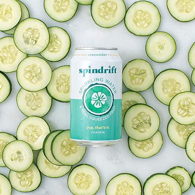 """<p>This <product href=""""https://www.amazon.com/Spindrift-Sparkling-Flavored-Squeezed-Calories/dp/B074JJVJQG/ref=sr_1_5?crid=2F02O9GNKMCSY&amp;dchild=1&amp;keywords=spindrift%2Bsparkling%2Bwater&amp;qid=1598548154&amp;sprefix=spindr%2Caps%2C313&amp;sr=8-5&amp;th=1"""" target=""""_blank"""" class=""""ga-track"""" data-ga-category=""""Related"""" data-ga-label=""""https://www.amazon.com/Spindrift-Sparkling-Flavored-Squeezed-Calories/dp/B074JJVJQG/ref=sr_1_5?crid=2F02O9GNKMCSY&amp;dchild=1&amp;keywords=spindrift%2Bsparkling%2Bwater&amp;qid=1598548154&amp;sprefix=spindr%2Caps%2C313&amp;sr=8-5&amp;th=1"""" data-ga-action=""""In-Line Links"""">Spindrift Sparkling Water, Cucumber</product> ($25 for 24) really does taste like spa water. It's refreshing, just not my personal favorite.</p>"""