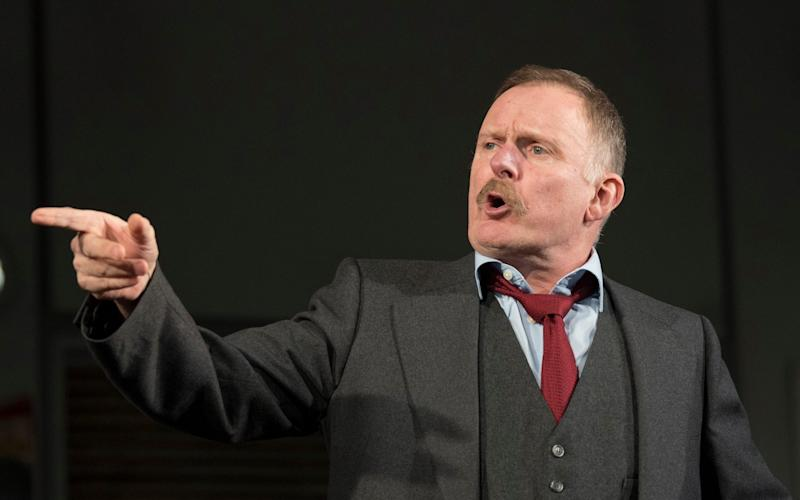 Robert Glenister pulled out of a leading role in a West End show after earlier collapsing on stage. - amx