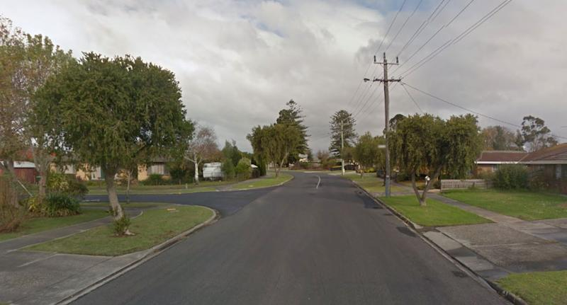 The child was found in a car on The Boulevard in Morwell. Source: Google Maps
