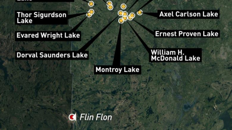 New lake names honour Manitoba soldiers who died in First World War
