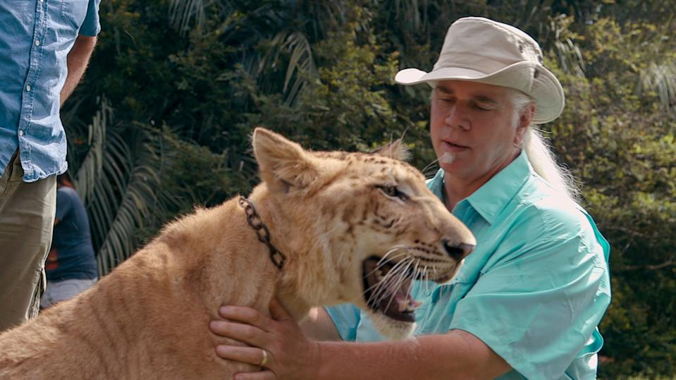 """Bhagavan """"Doc"""" Antle is the latest """"Tiger King"""" star in legal trouble. (Photo: ©Netflix/Courtesy Everett Collection)"""