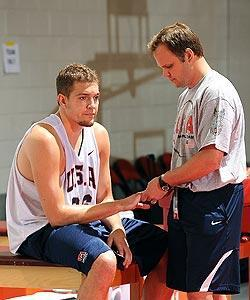 David Lee will miss the world championships after injuring his right middle finger in camp