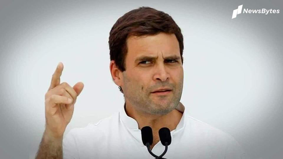 Rahul Gandhi faces criticism over absence during Congress Foundation Day