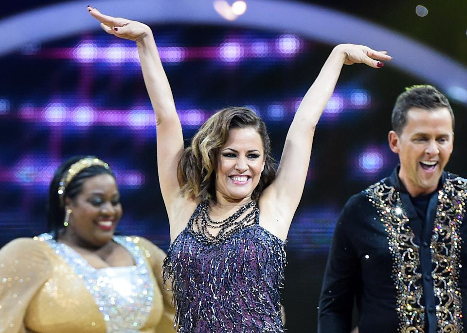 Caroline Flack's highlights on 'Strictly Come Dancing' will be celebrated. (AP)