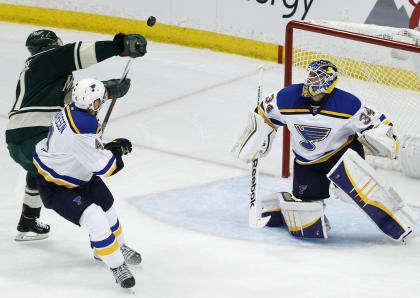Look for Jake Allen to truly establish himself as the Blues' No. 1 this season. (AP)