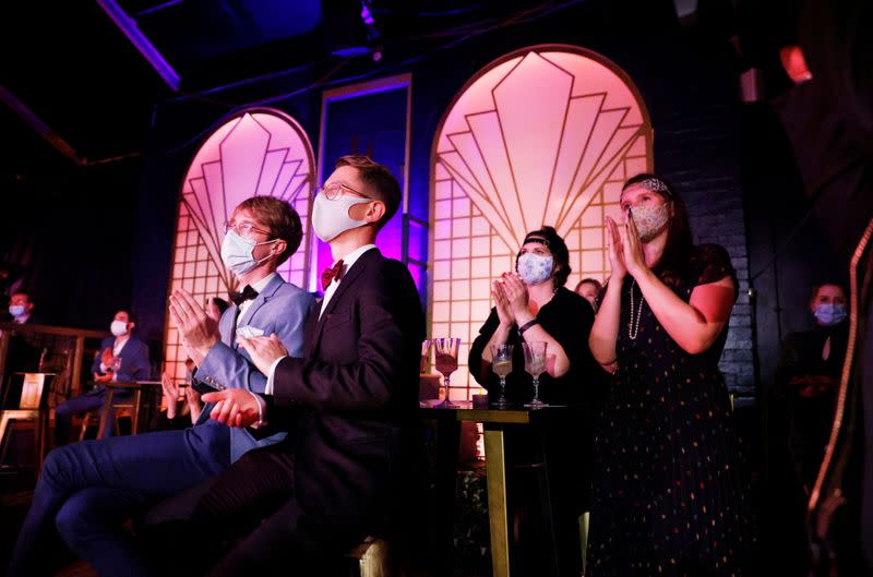 Reopening of the Great Gatsby in London's West End