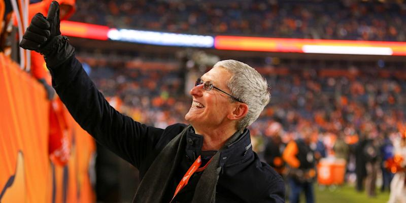 Apple CEO Tim Cook's massive salary and perk revealed