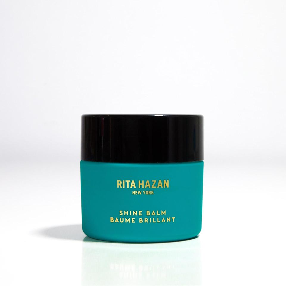 "<p>This <a href=""https://www.popsugar.com/buy/Rita-Hazan-Shine-Balm-540489?p_name=Rita%20Hazan%20Shine%20Balm&retailer=ritahazan.com&pid=540489&price=30&evar1=bella%3Aus&evar9=47111925&evar98=https%3A%2F%2Fwww.popsugar.com%2Fbeauty%2Fphoto-gallery%2F47111925%2Fimage%2F47111931%2FRita-Hazan-Shine-Balm&list1=beauty%20products%2Cbeauty%20shopping&prop13=mobile&pdata=1"" rel=""nofollow noopener"" class=""link rapid-noclick-resp"" target=""_blank"" data-ylk=""slk:Rita Hazan Shine Balm"">Rita Hazan Shine Balm</a> ($30) will help everyone in the audience achieve the smoothest, shiniest-looking hair sans a trip to their hairstylists.</p>"