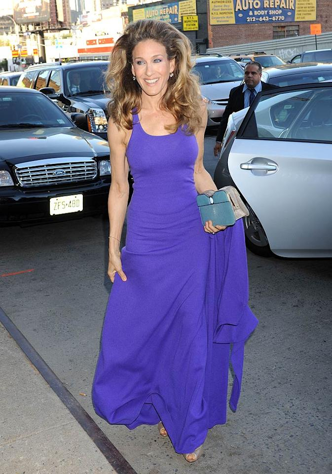 """Sarah Jessica Parker showed off some sky-high hair at the event, which raised more than $47 million to fight poverty in New York City. Demis Maryannakis/<a href=""""http://www.splashnewsonline.com"""" target=""""new"""">Splash News</a> - May 9, 2011"""