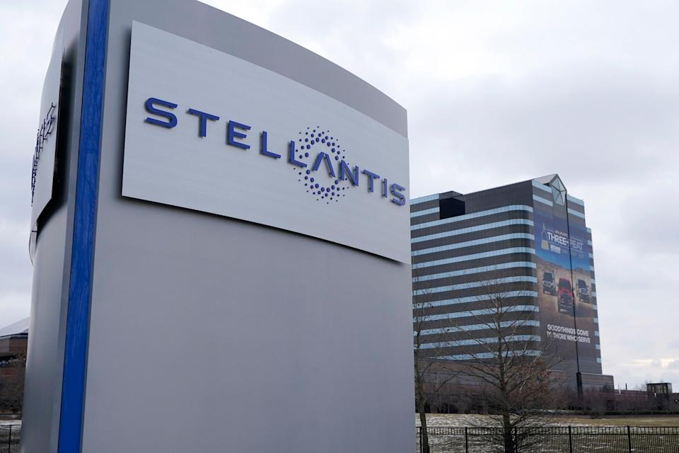 Stellantis Chip Shortage (Copyright 2021 The Associated Press. All rights reserved.)