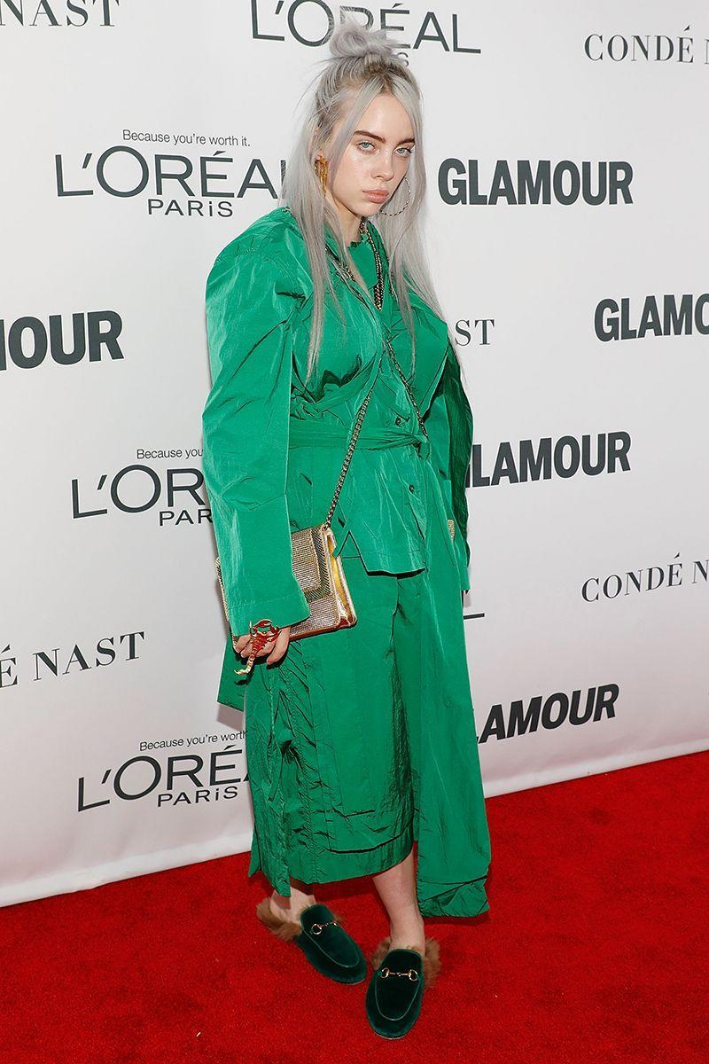 <p>Back in 2017, the singer wore a waist-defining look to the Glamour Women of the Year Awards. </p>