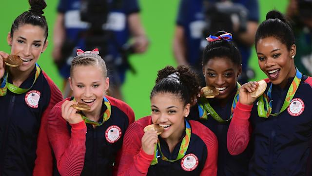 Olympics: Another gold medal for USA women's gymnasts