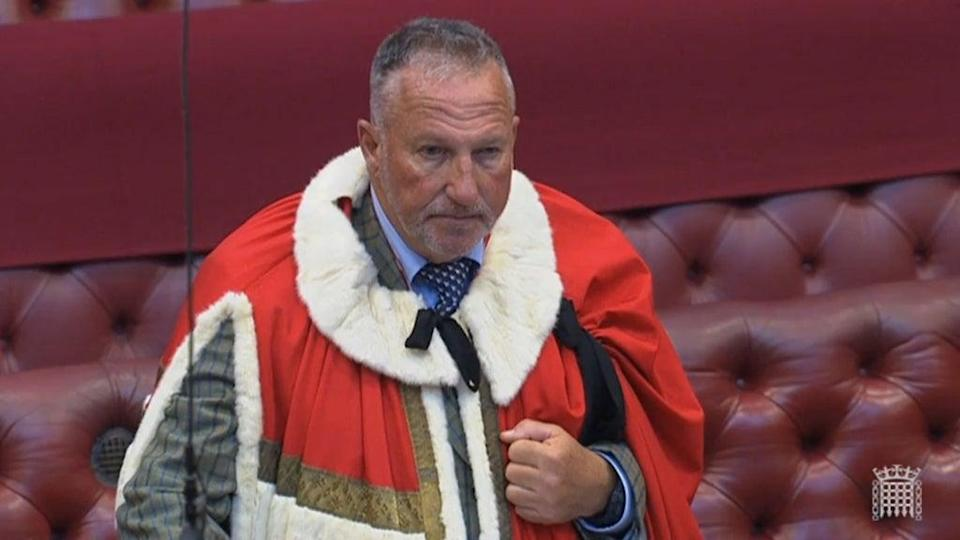 Former England cricketer Ian Botham has been appointed by the Government as a trade envoy to Australia (House of Lords/PA) (PA Archive)