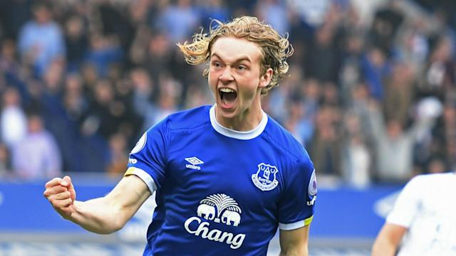 Tom Davies' strike against Leicester City tied the record set by Romelu Lukaku and Pedro for the fastest Premier League goal this season.