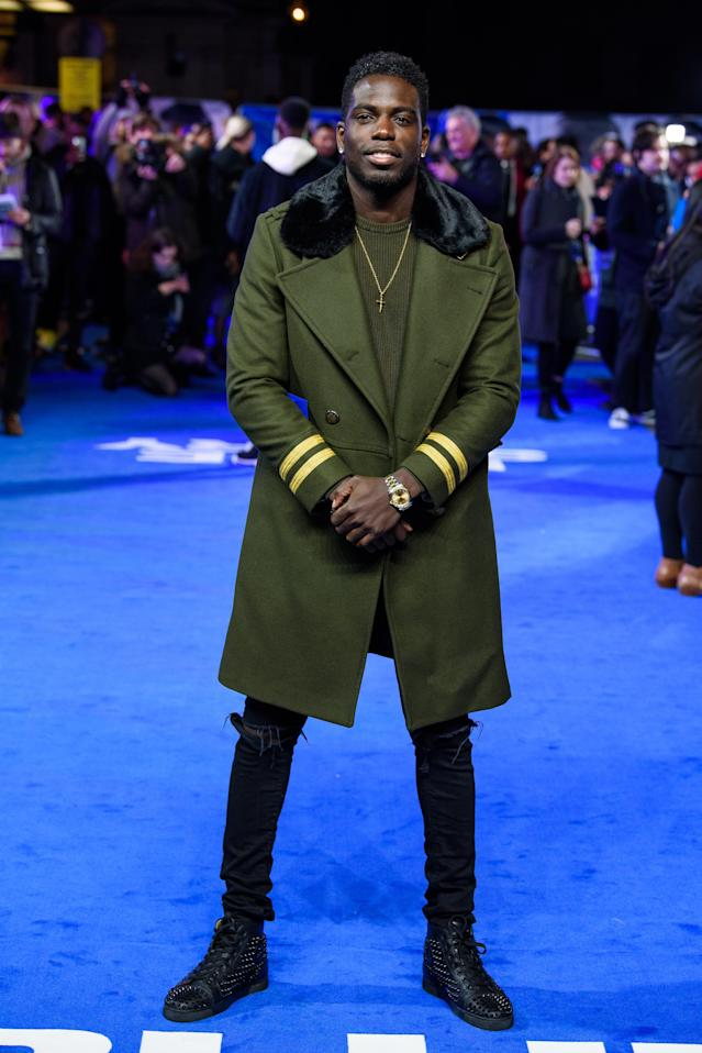 """Marcel Somerville attends the """"Blue Story"""" world premiere at Picturehouse Central on November 14, 2019 in London, England. (Photo by Joe Maher/Getty Images)"""
