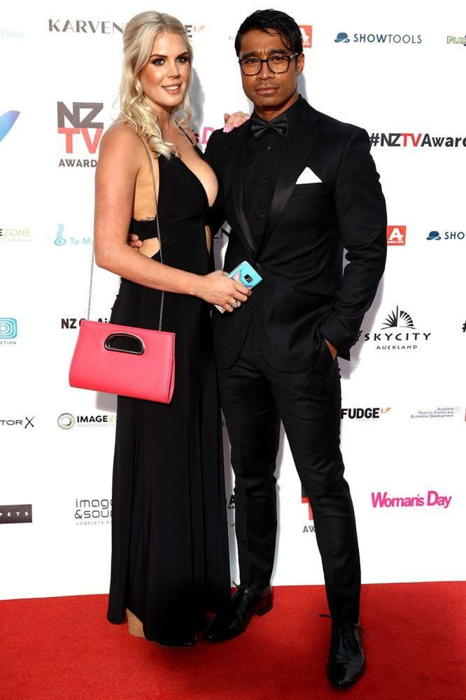 Pua Magasiva and Lizz Sadler | Phil Walter/Getty Images