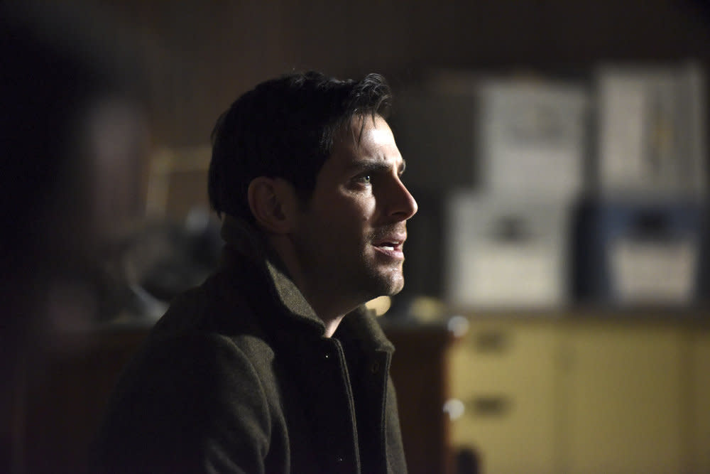 <p>David Giuntoli as Nick Burkhardt (Credit: Allyson Riggs/NBC) </p>
