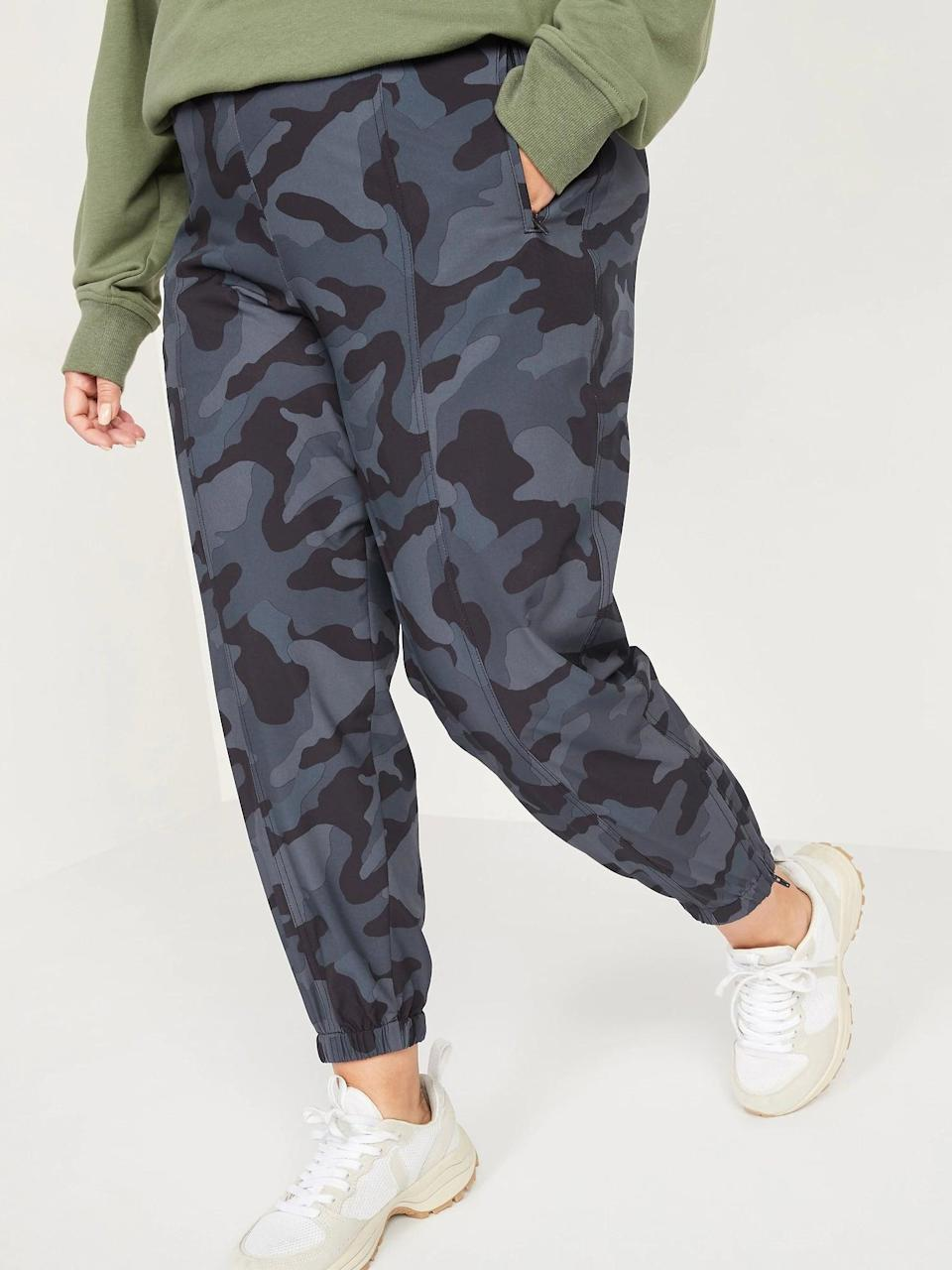 <p>Get cozy in these <span>Old Navy Mid-Rise StretchTech Jogger Pants</span> ($32, originally $38).</p>
