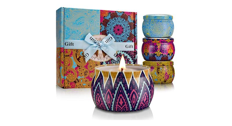 YMing Scented Candles Gifts for Women