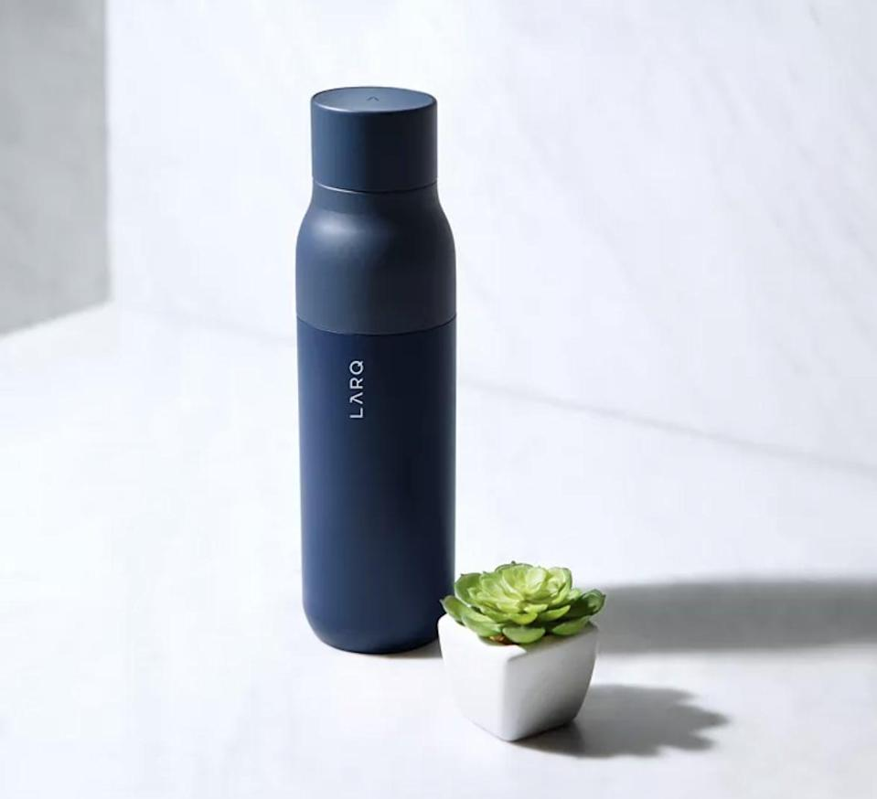 <p>The fact that you don't need to watch this <span>Larq Self Cleaning Water Bottle</span> ($95) is everything.</p>