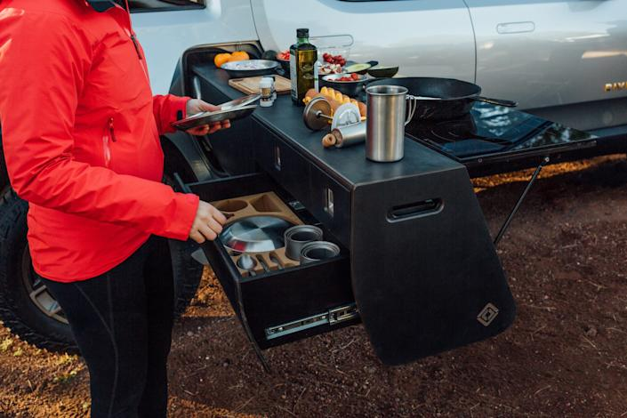 Rivian R1T Camp Kitchen
