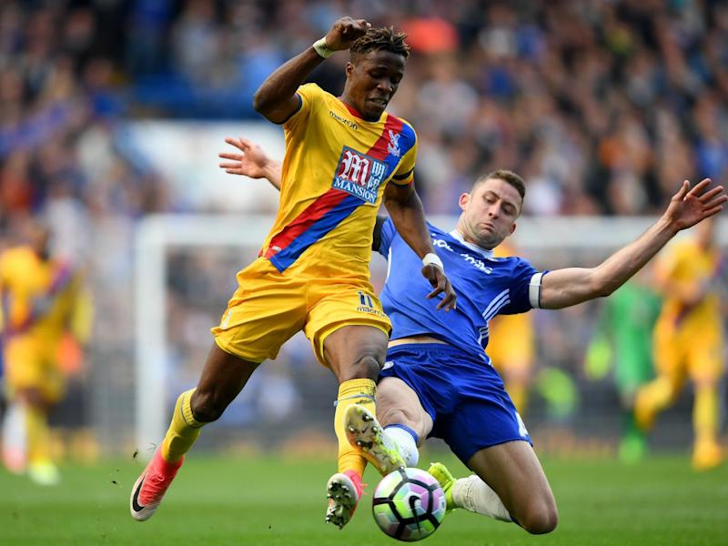 Wilfried Zaha's display answered any remaining questions about his ability (Getty)