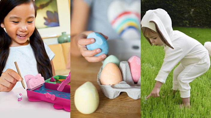 There's plenty of treats, trinkets, and costumes for your little one this Easter.