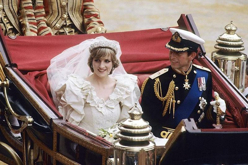 Diana took on Charles' more importance 'Prince of Wales' title when they married. Photo: Getty