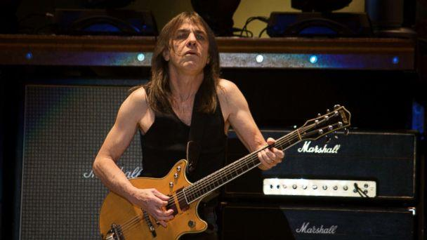 PHOTO: Guitarist Malcolm Young of the rock band AC/DC performs at the Rogers Center in Toronto, Jan. 9, 2009. (Michael Hurcomb/Corbis via Getty Images, FILE)