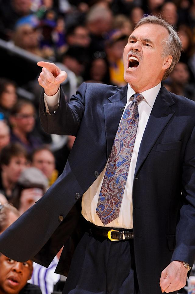 Mike D'Antoni, Los Angeles Lakers (Photo by Andrew D. Bernstein/NBAE via Getty Images)