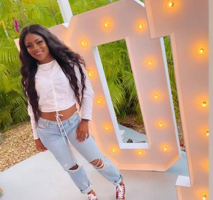 Tyleisha Taylor, killed at the age of 20 early Sunday morning.