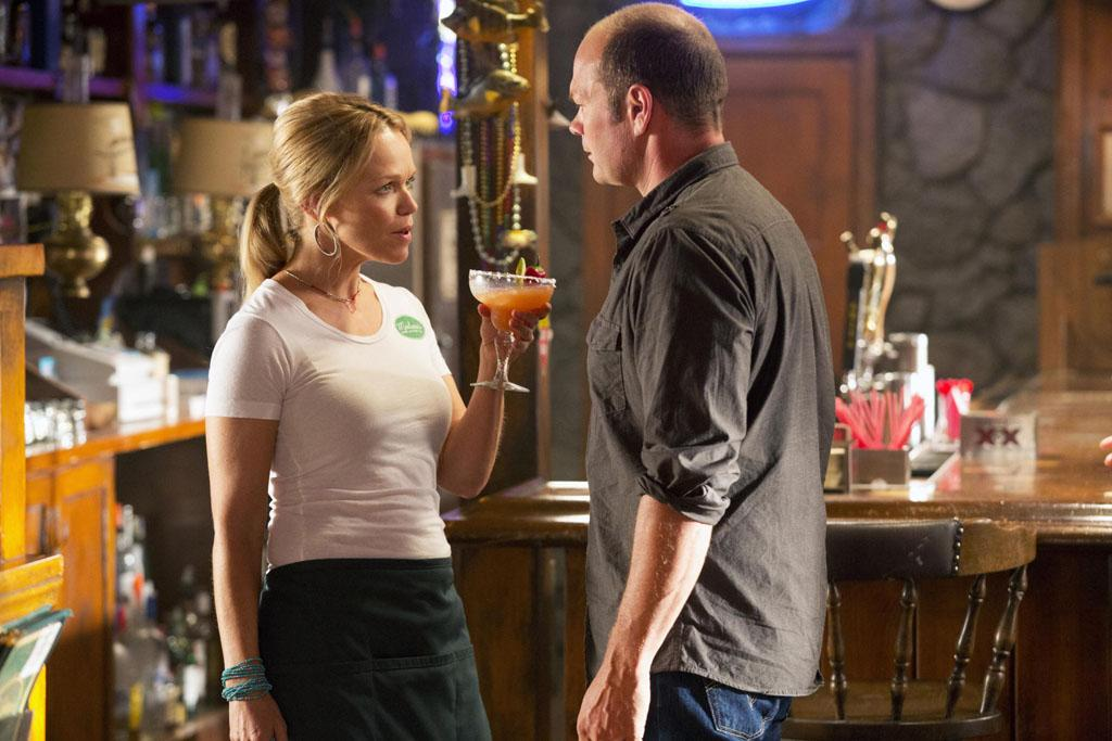 "Lauren Bowles and Chris Bauer in the ""True Blood"" episode, ""Save Yourself."""