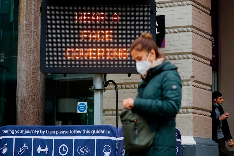 A Public Health England official suggested large households mixing with other households could be a major factor contributing to spread of coronavirus: AFP via Getty Images