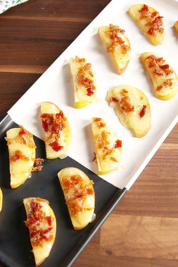 "<p>These flavorful bites don't even require sliced bread.</p><p>Get the recipe from <a href=""https://www.delish.com/cooking/recipe-ideas/recipes/a50273/bacon-apple-crostini-recipe/"" rel=""nofollow noopener"" target=""_blank"" data-ylk=""slk:Delish"" class=""link rapid-noclick-resp"">Delish</a>.</p>"
