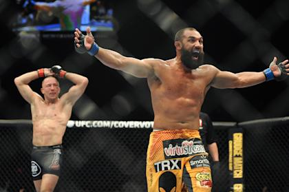 Johny Hendricks clearly thought he'd won at the conclusion of the fight. (USA Today)