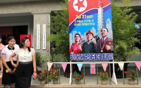Turnout for the North Korean local elections stood at 99.98 percent - Credit: TASS