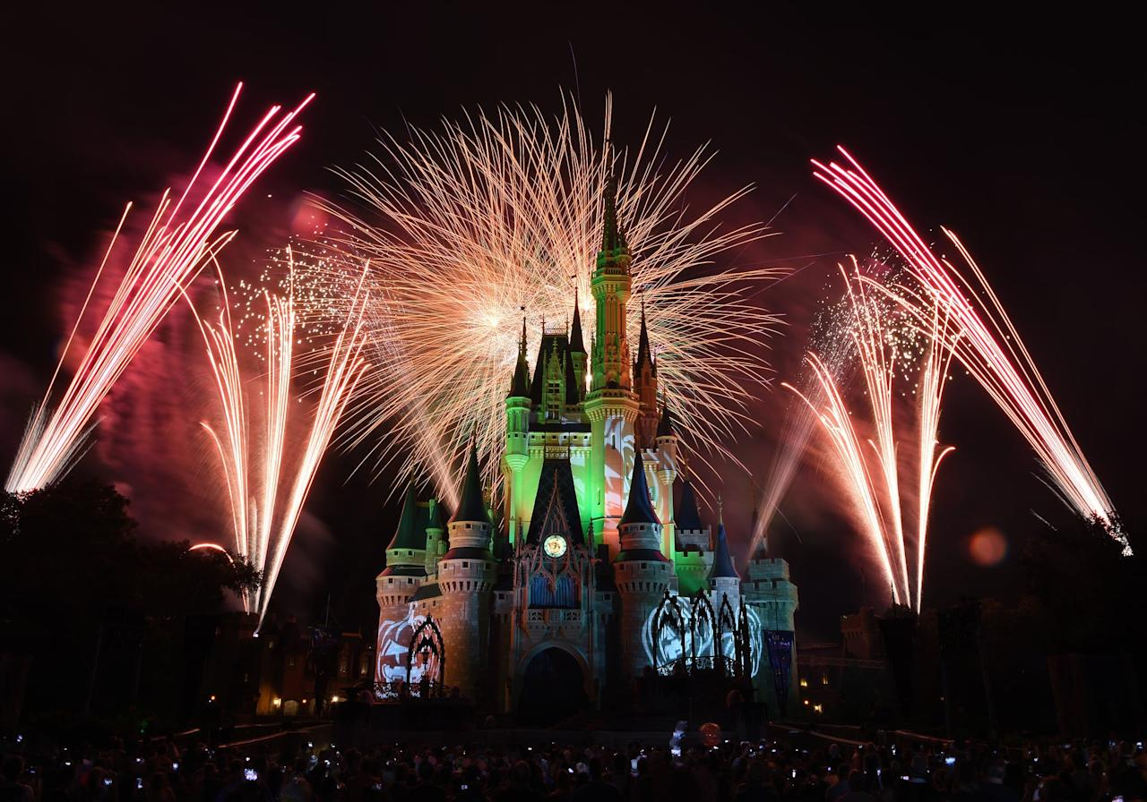 "<p>Disney is unveiling a brand-new fireworks spectacular at Mickey's Not-So-Scary <a class=""sugar-inline-link ga-track"" title=""Latest photos and news for Halloween"" href=""https://www.popsugar.com/Halloween"" target=""_blank"" data-ga-category=""Related"" data-ga-label=""https://www.popsugar.com/Halloween"" data-ga-action=""&lt;-related-&gt; Links"">Halloween</a> Party this year, called Disney's Not-So-Scary Spooky Spectacular. The show features <a href=""https://www.popsugar.com/smart-living/Jack-Skellington-Mickey-Ears-Disney-46459646"" class=""ga-track"" data-ga-category=""Related"" data-ga-label=""http://www.popsugar.com/smart-living/Jack-Skellington-Mickey-Ears-Disney-46459646"" data-ga-action=""In-Line Links"">Jack Skellington</a> as the host and follows Mickey, Minnie, Goofy, and Donald into a haunted house. Be sure to check the party times guide since this is only shown once a night. For the best viewing, find a spot on Main Street U.S.A. or anywhere near the castle!</p>"