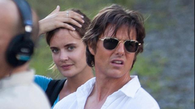 Tom Cruise's Assistant Totally Looks Like Katie Holmes