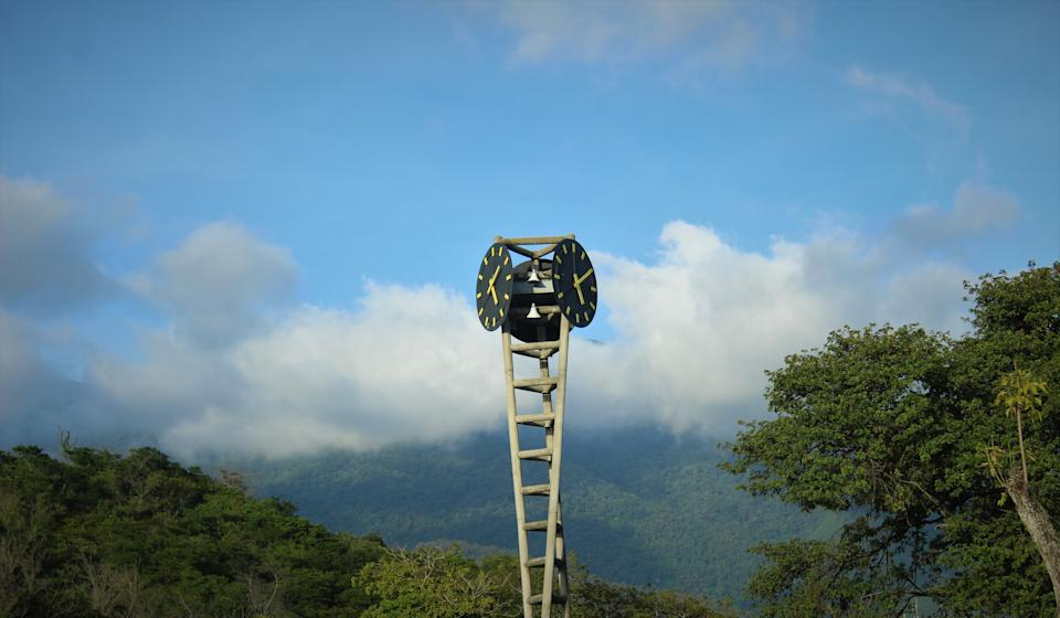 This one of the great monuments of Caracas, within the alma mater of the nation the central university of Venezuela.